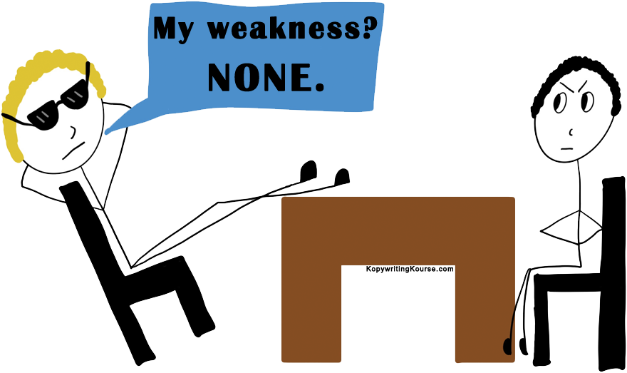 greatest weakness none