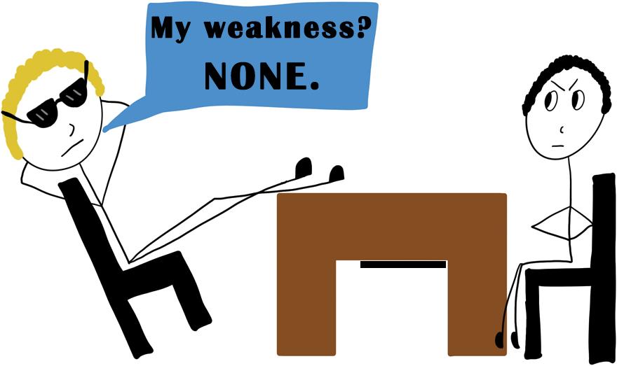 greatest weakness none
