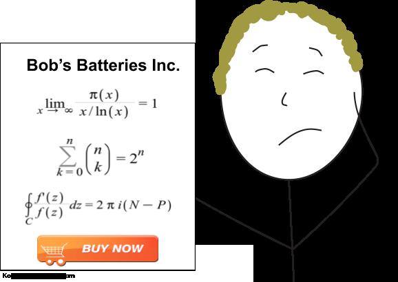hard to understand sale ad