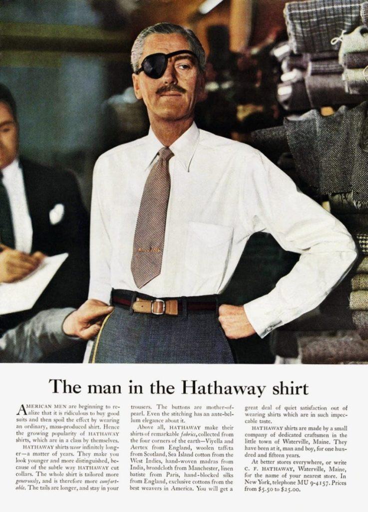 hathaway shirt ad 2