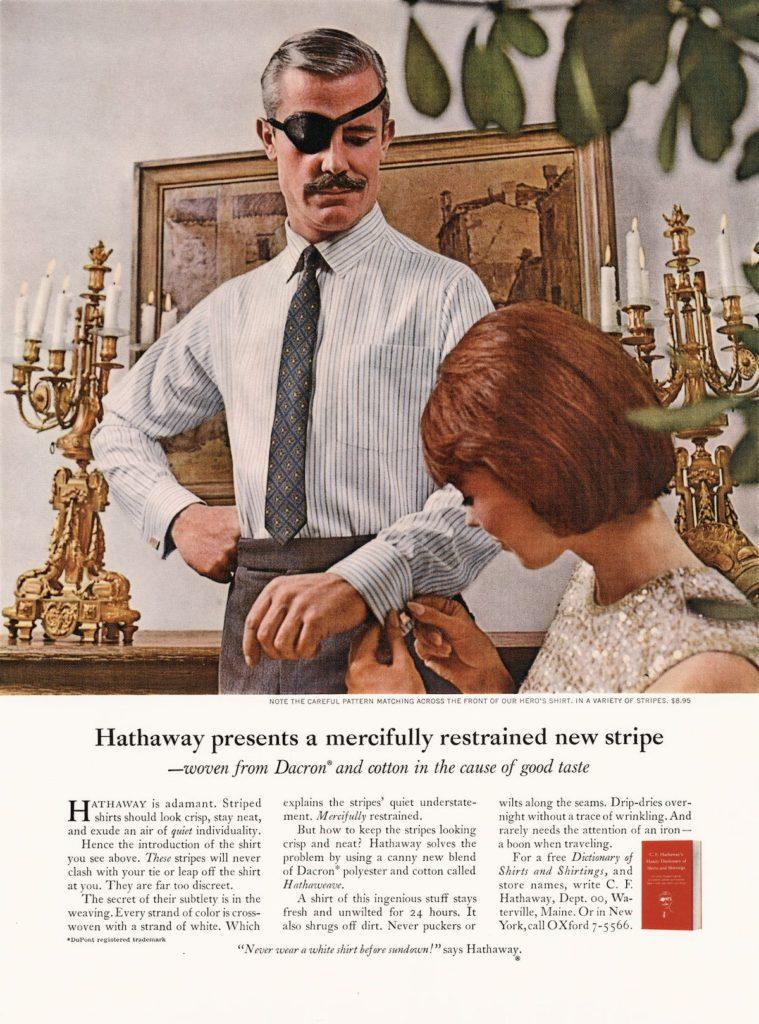 hathaway shirt ad 3