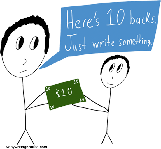 Hiring a cheap copywriter