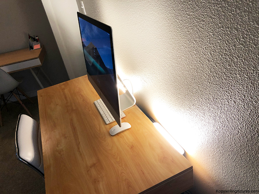 Home Office Lighting Setup