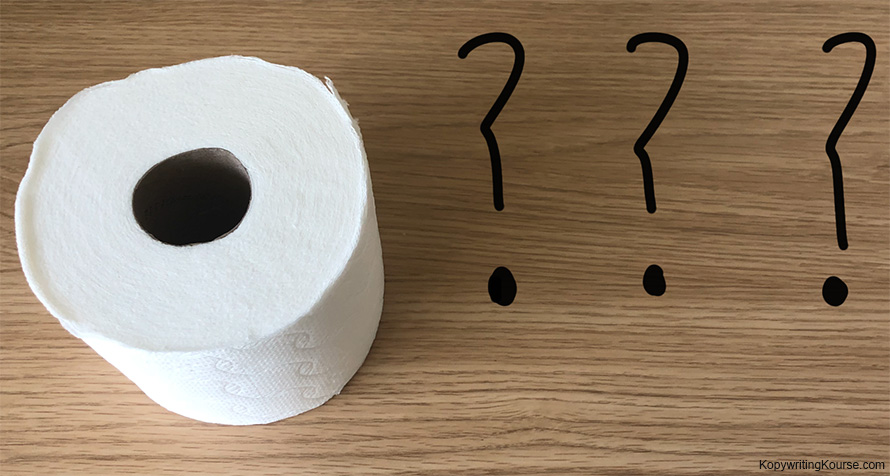 How many squares of toilet paper do you use?