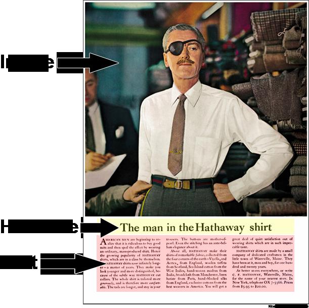 image headline text example