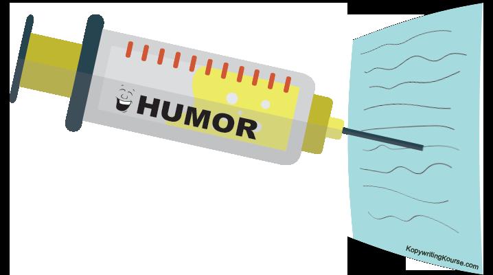 Injecting humor syringe