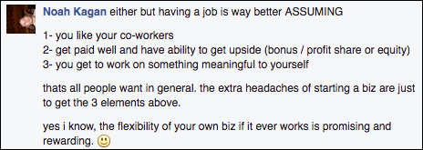 job vs business advice