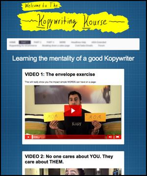 The Kopywriting Kourse pic