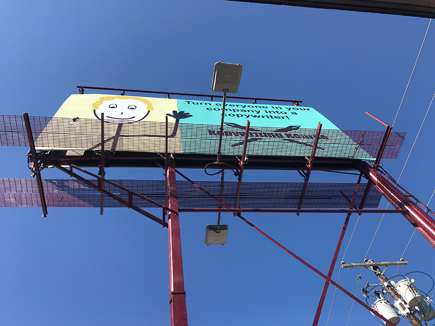 kopywritingkourse billboard