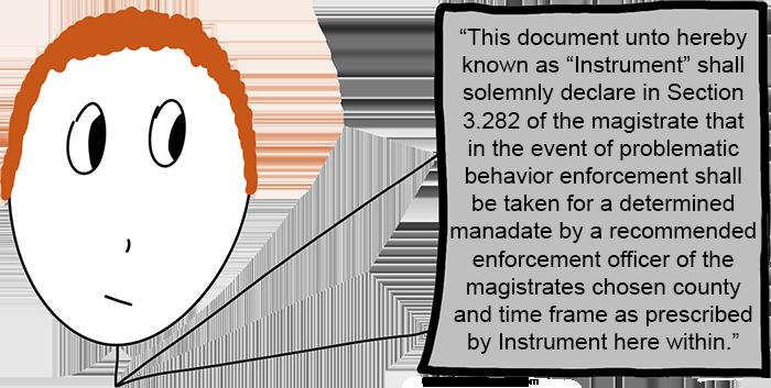 lawyer buzzwords document