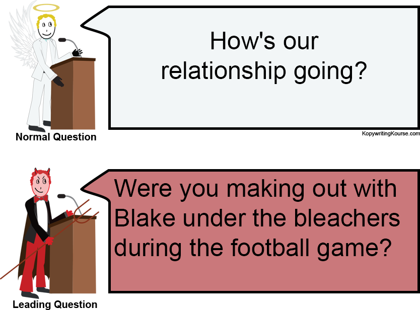 leading questions relationship