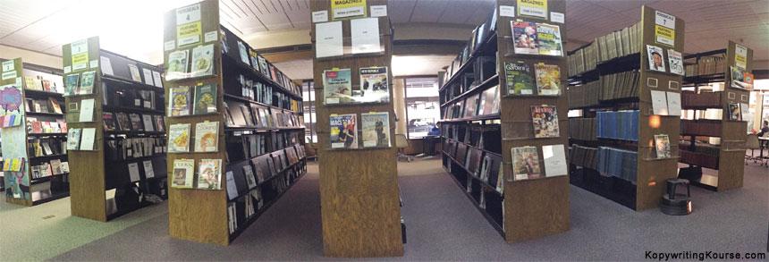 Library Magazine Stacks