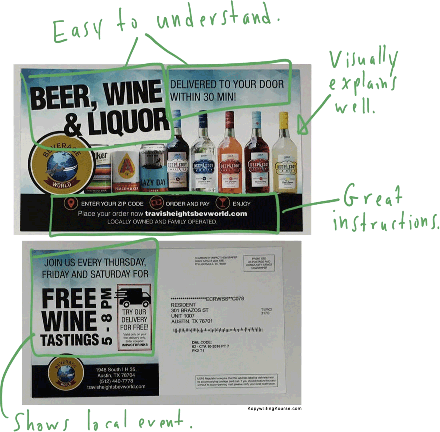 Liquor Flyer Suggestions