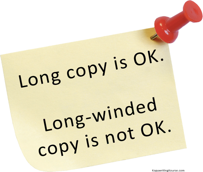 Long Winded Copy