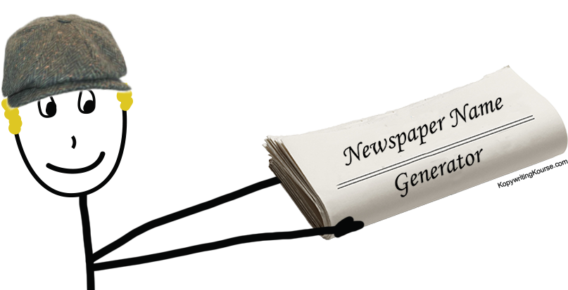 Newspaper name and title generator