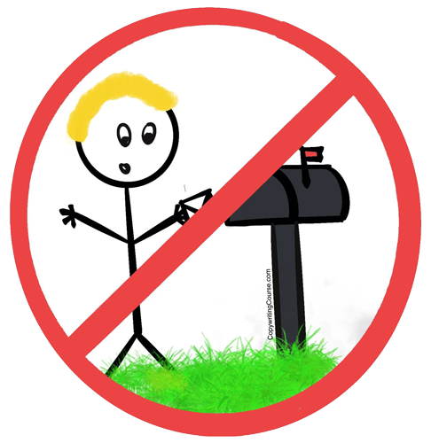 no sending mail