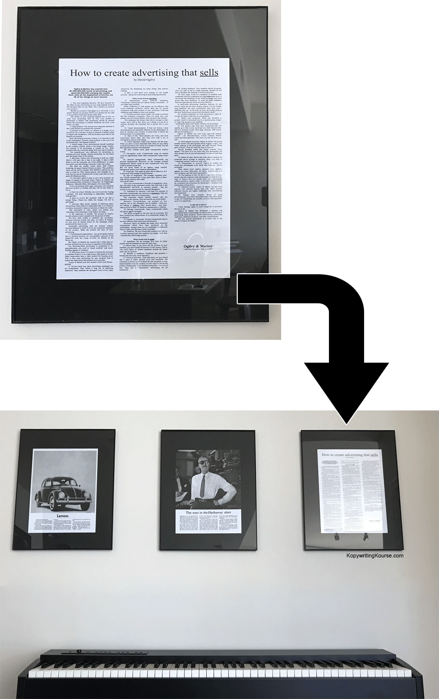 ogilvy advertising that sells frame picture