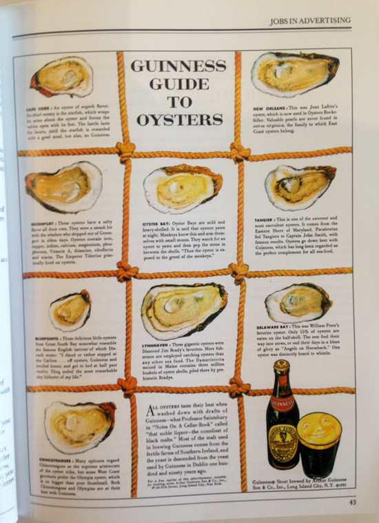 Ogilvy Advertorial Guinness Oysters