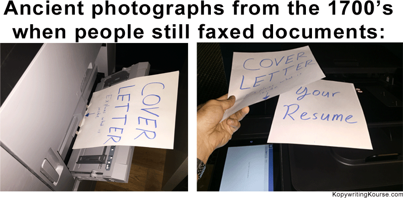 Old Faxed Documents