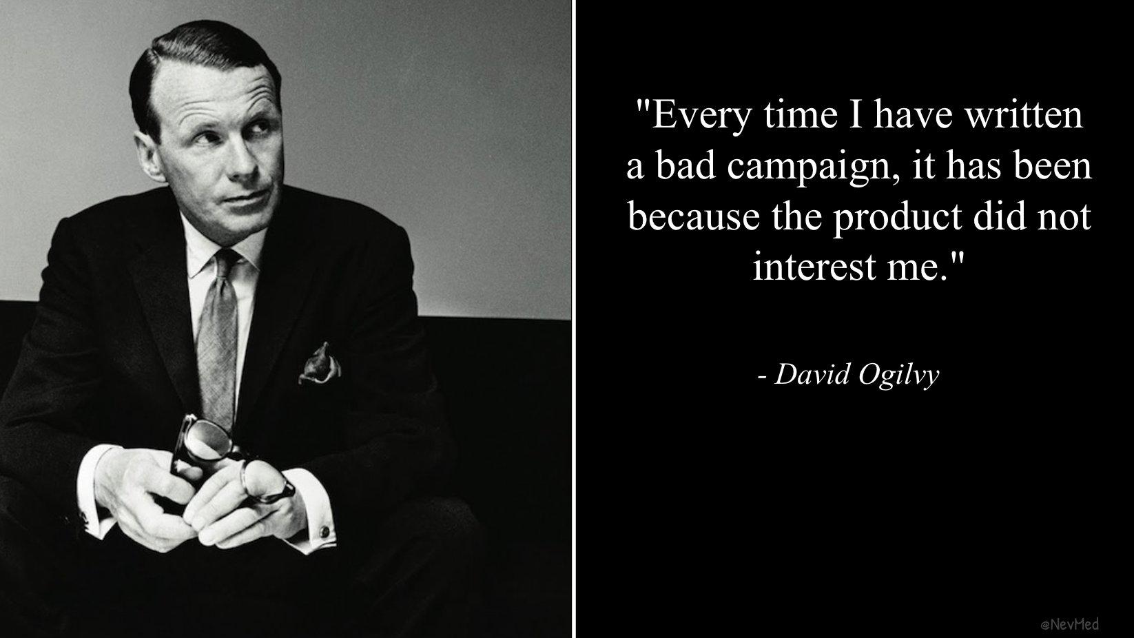 Ogilvy quote