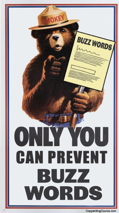 only you can prevent buzz words