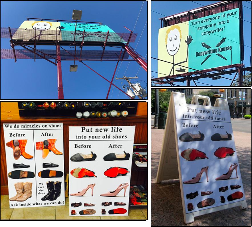 outdoor advertising copywriting