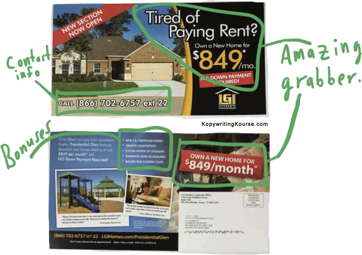Own a Home Flyer