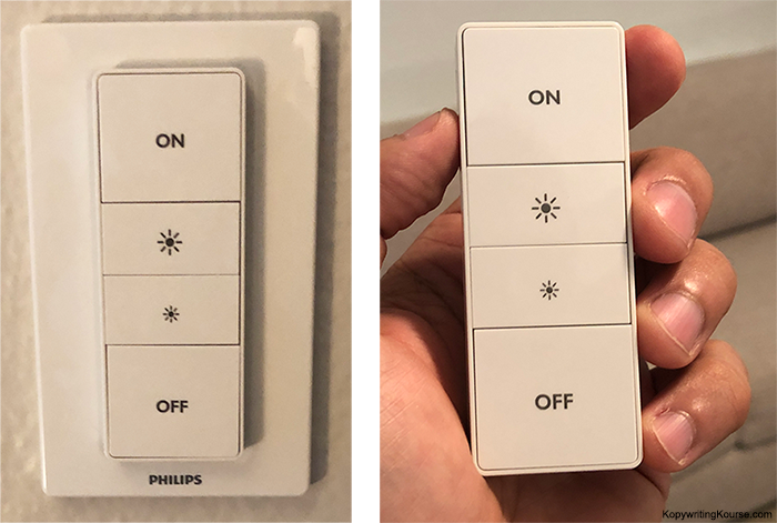 Phillips Hue Light Switch