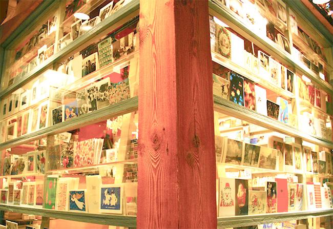 select the postcard
