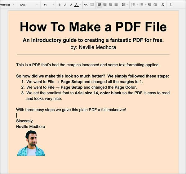 Pretty PDF File