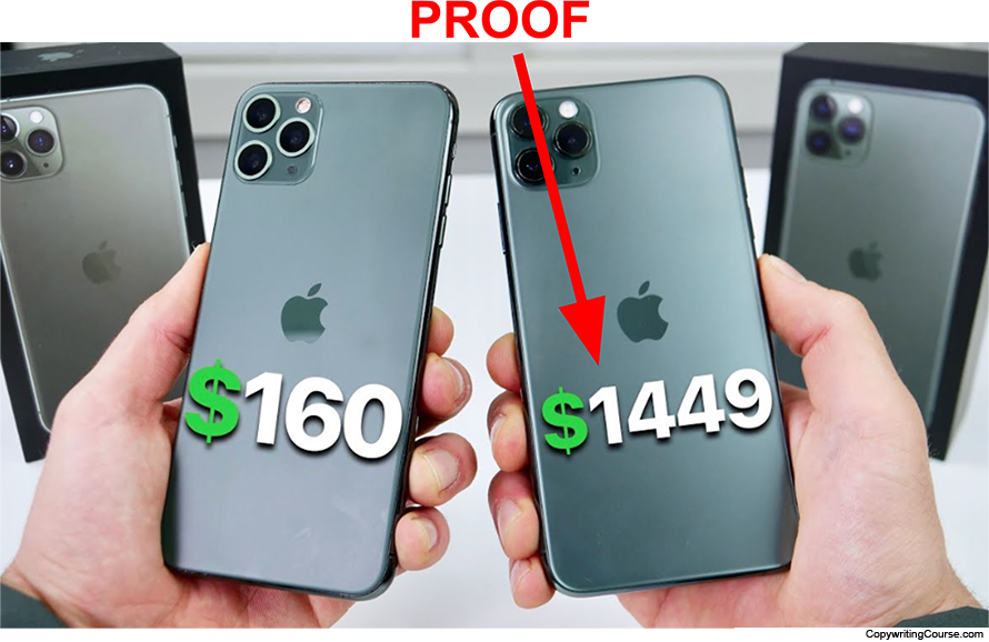 price proof