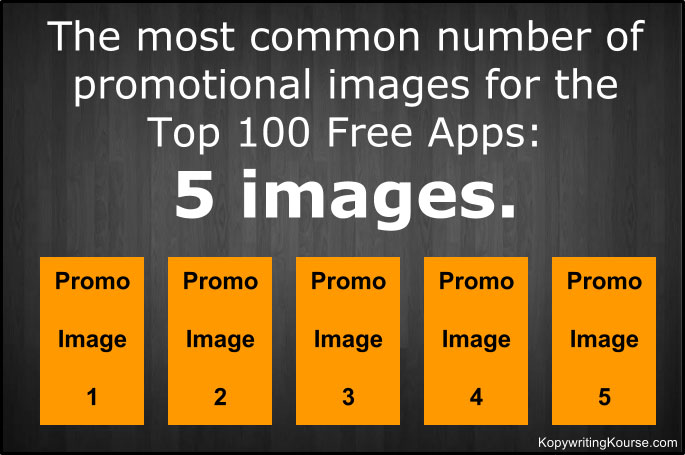 Promotional images in free apps