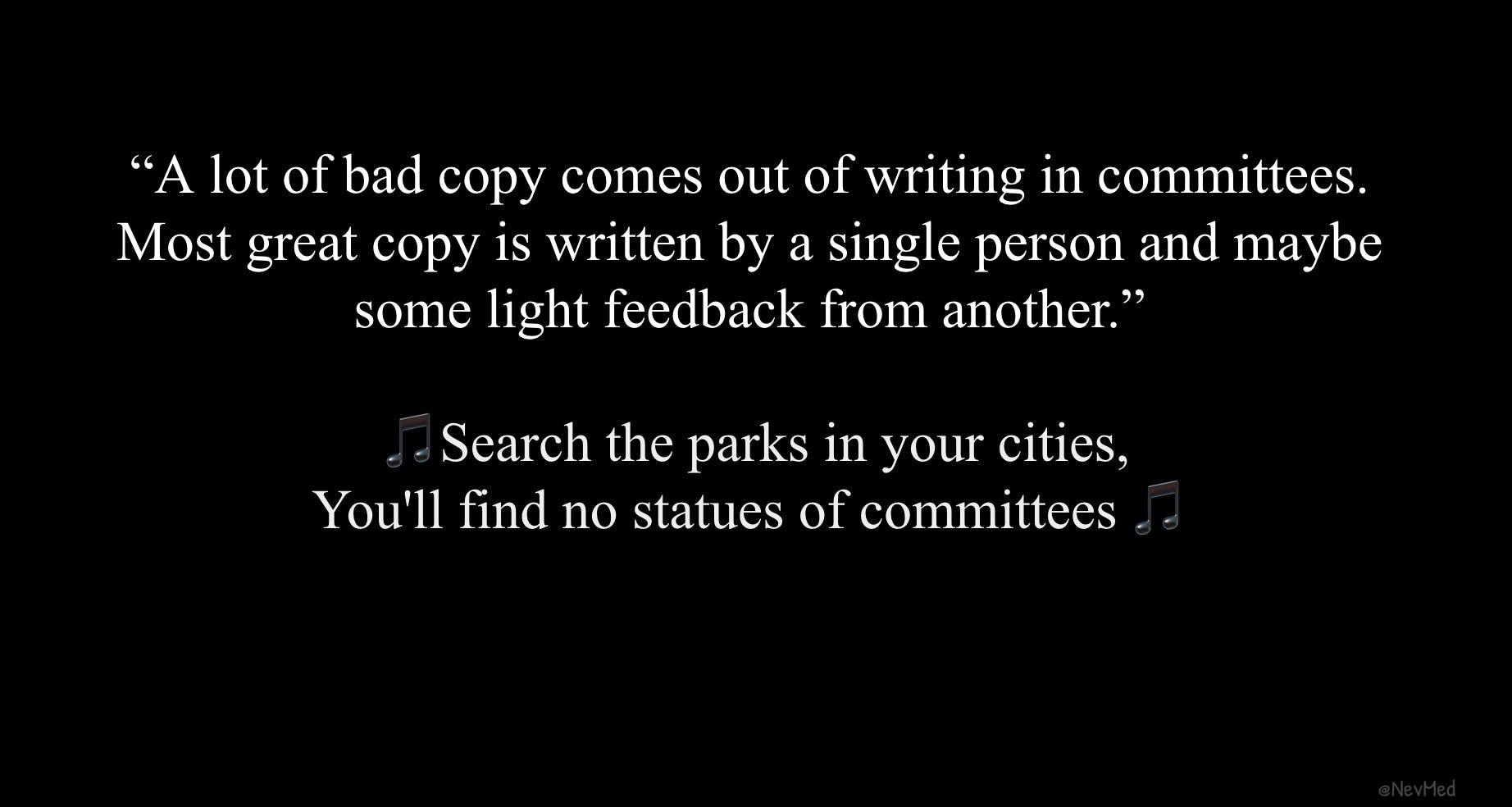 bad copy quote