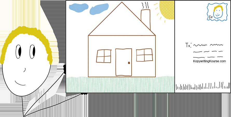 Real Estate Flyers Postcard House