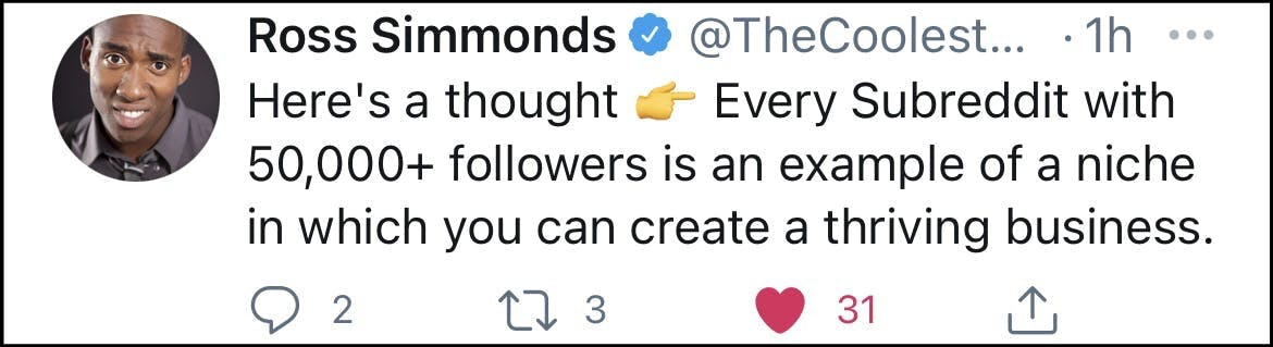 ross simmonds tweet