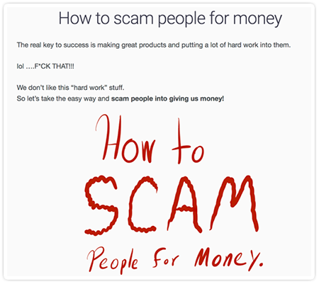 scam-post-writing-funny-example