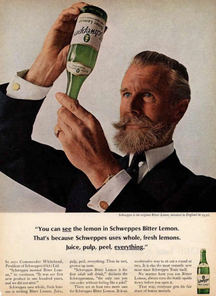 schweppes ad campaign ogilvy copywork