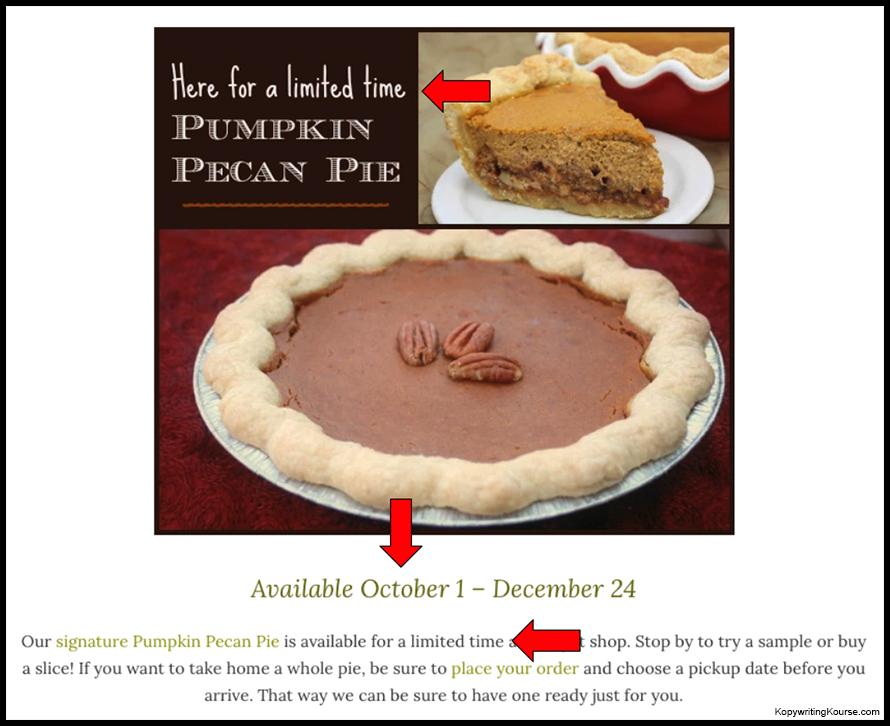 seasonal product example