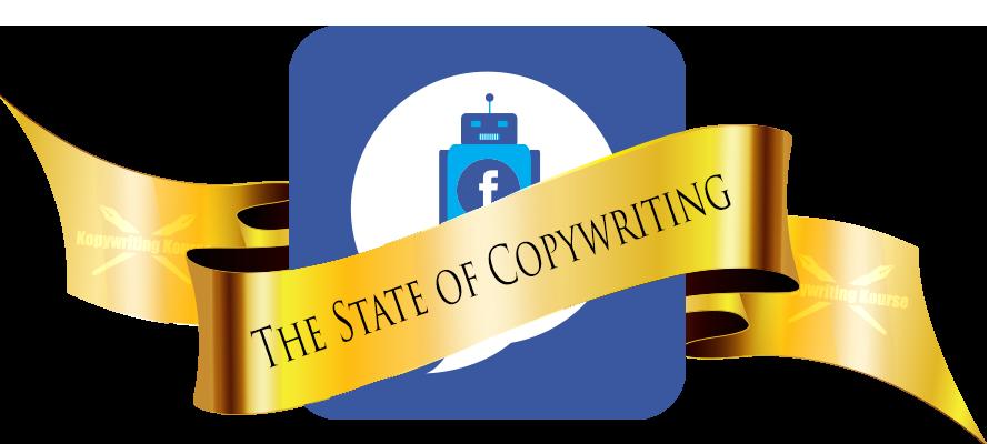 state of copywriting facebook messenger bot logo