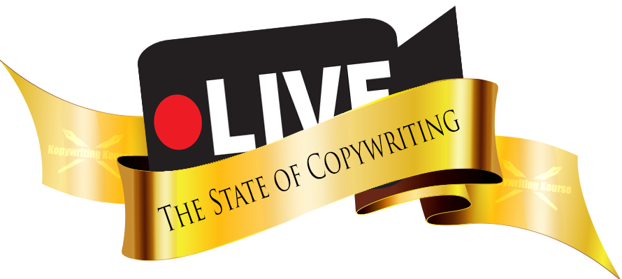 state of copywriting live video logo