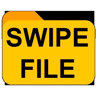 Swipe File Logo