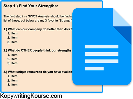 swot-analysis-google-doc-template