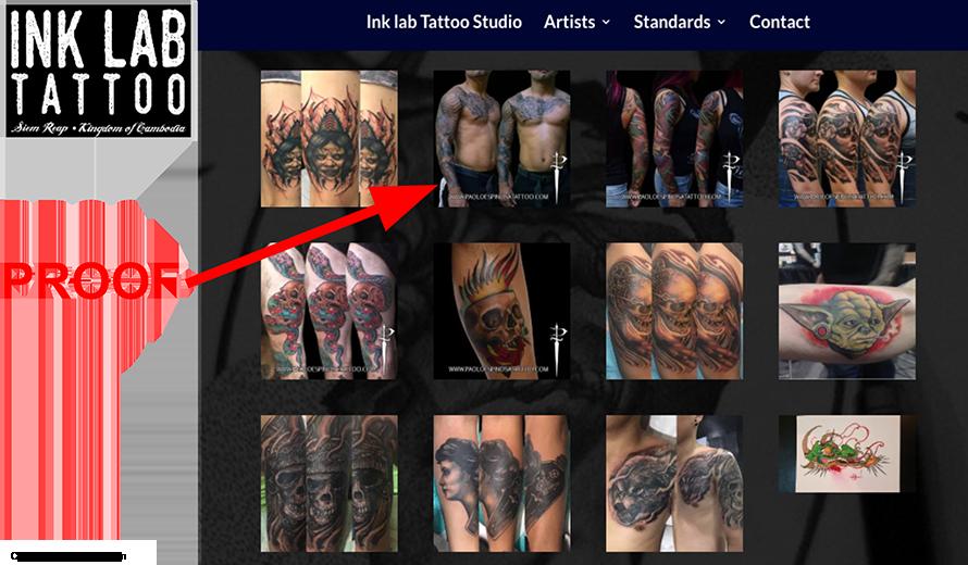 tattoo proof