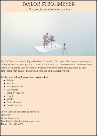 Copywriting Portfolio (Make a full portfolio in 10 minutes)