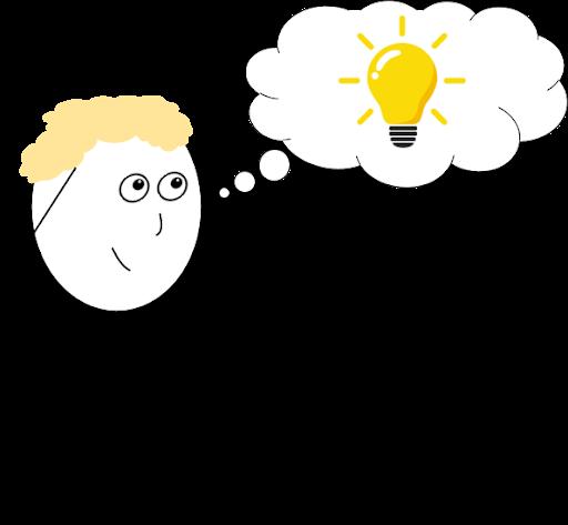 thought lightbulb moment