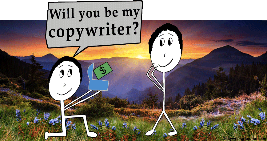 How to become a copywriter asking picture